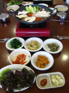 good old Korean food